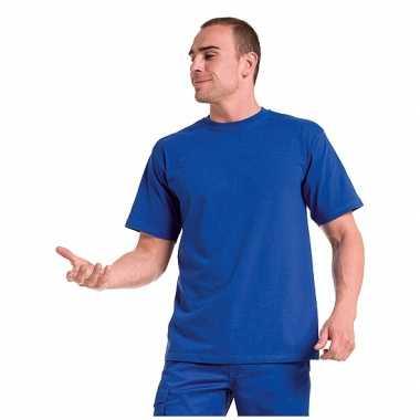Grote maat heren t-shirts maat 4xl blauw