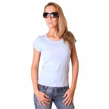 Kleding Dames t-shirt Bella babyblauw