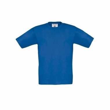 Kleding Kinder t-shirt kobalt blauw