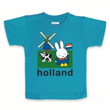 Nijntje baby t-shirt blauw