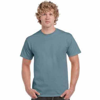 Stone blauwe t-shirts