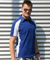 Lemon soda polo shirt voor heren blauw